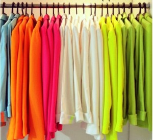 Camisas neon
